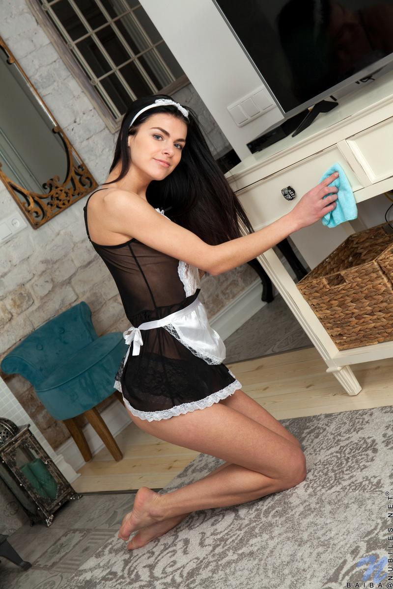 Nubiles.net - Baiba: Sexy Maid