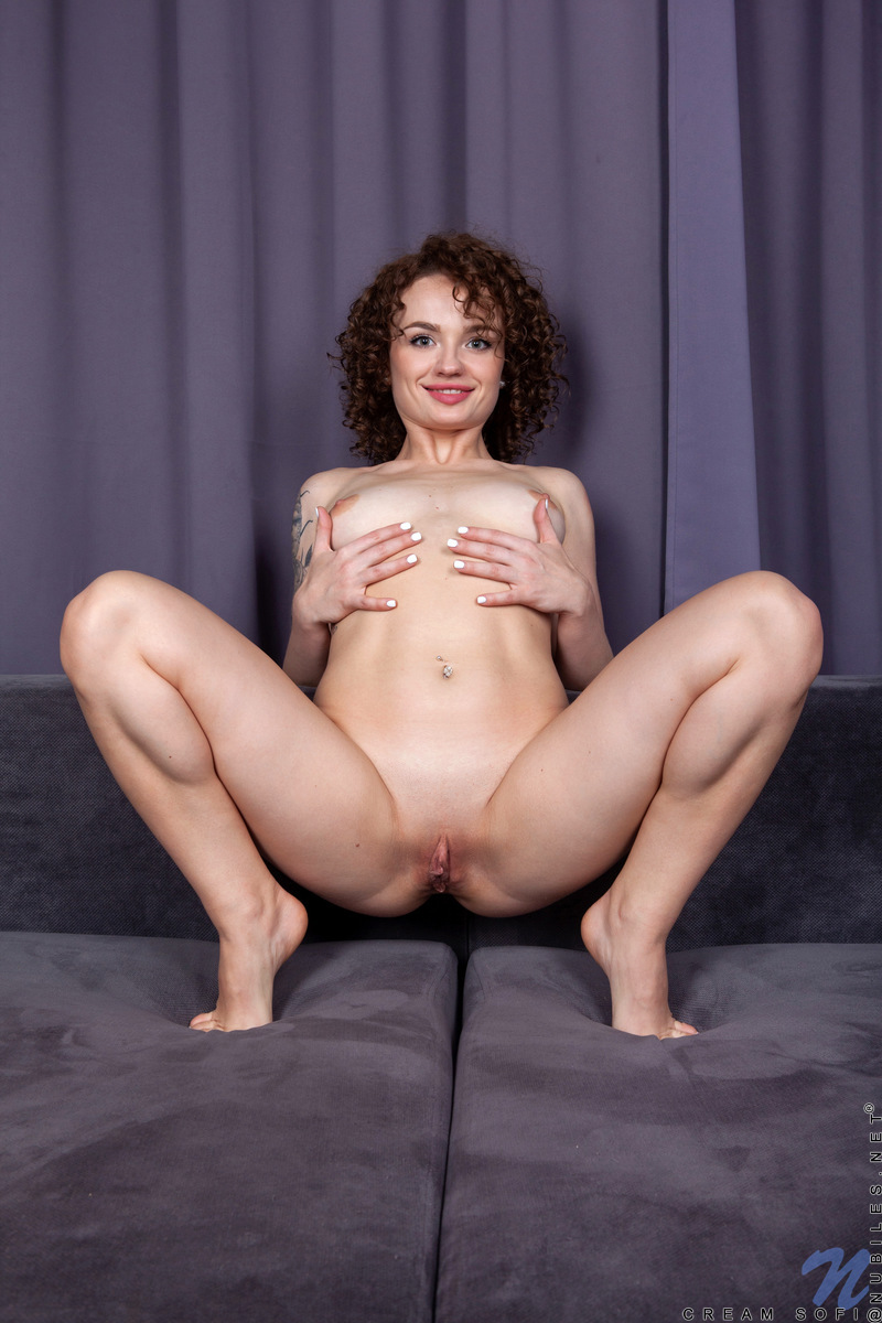 Nubiles.net - Cream Sofi: Curly Haired Cutie