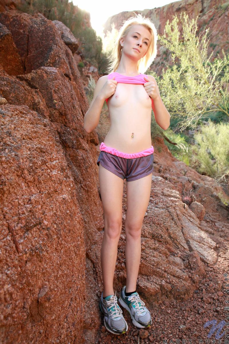 teen girl running shorts porn