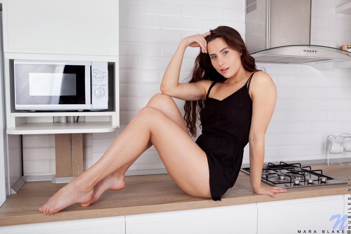 Nubiles.net - Mara Blake: Little Black Dress