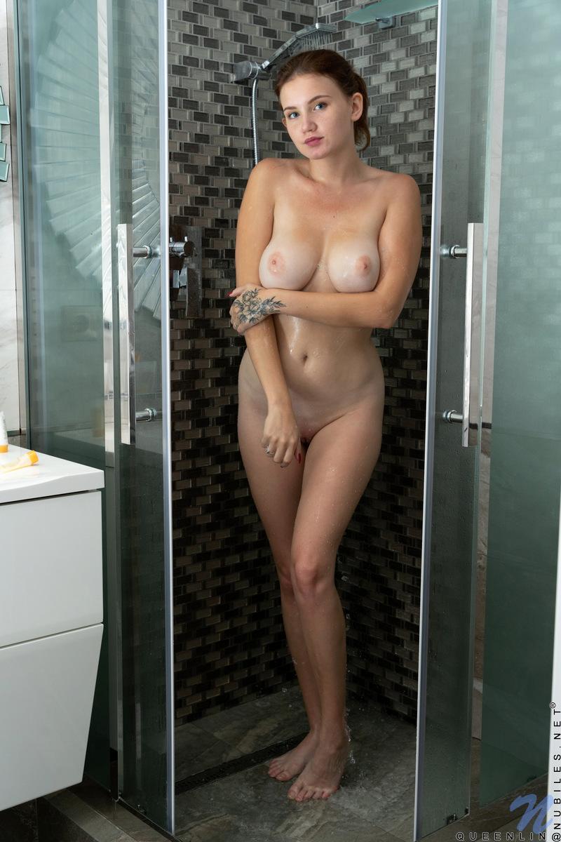 Nubiles.net - Queenlin: Sexy Shower