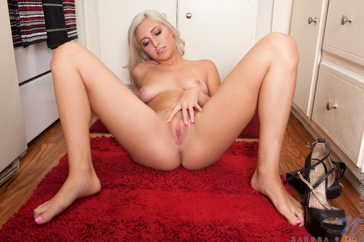 horney blonde porn