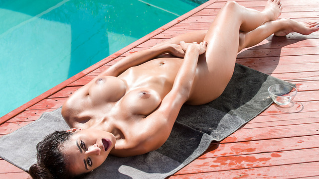 Poolside Pleasure - Nubiles.net