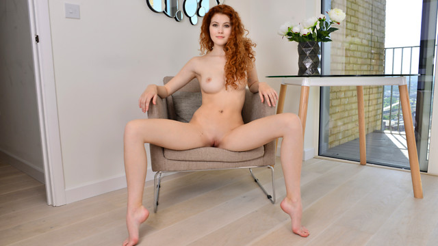 Natural Redhead - Nubiles.net