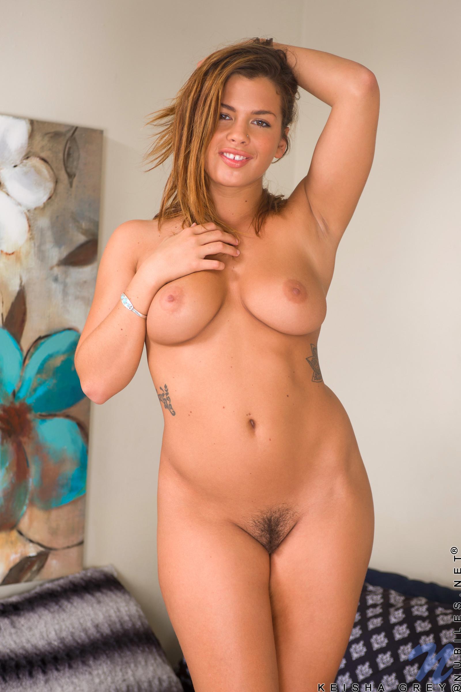 Grey nude naked keisha